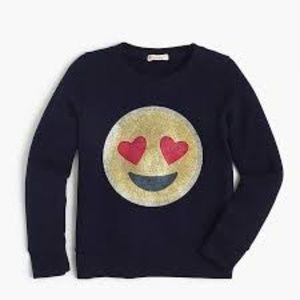 Kids Heart Emoji Sweatshirt